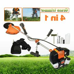1.8KW Gas Weed Eater Hedge Trimmer Commercial Brush Cutter H