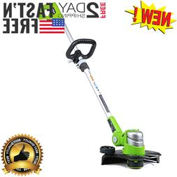 "12"" 24V Lithium Battery Powered String Trimmer Edger Cordles"