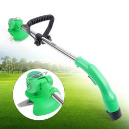 12V Electric Weed Grass Trimmer Eater Edger Lawn Mower Cordl