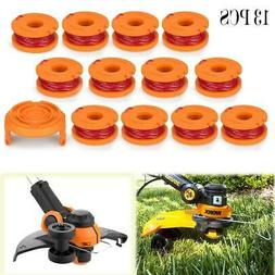 13 Pack Spool Line String Trimmer Replacement WA0010 Weed Ea