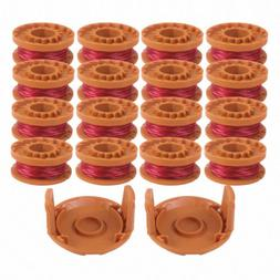 16Pack WA0010 String Grass Trimmer Line For Worx Trimmer Spo