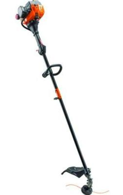 "17"" 25cc Straight Shaft Gas Weed Grass Trimmer Dual Line Bum"