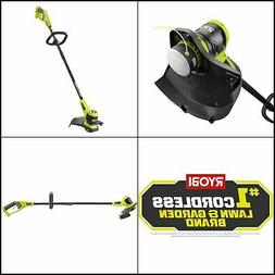 Ryobi 18-V Electric Cordless String Trimmer Lightweight Weed