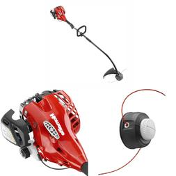 2 CYCLE CURVED SHAFT Gas String Trimmer 26 cc Weedeater Gard