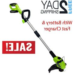 20V Lithium Battery Powered String Trimmer And Edger Cordles