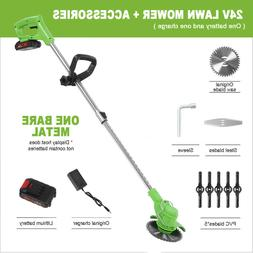 24V Electric  Weed Eater Lawn Wacker Edger Grass Home Cordle