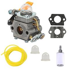 Harbot 308054003 Carburetor with Primer Bulb Fuel Filter for
