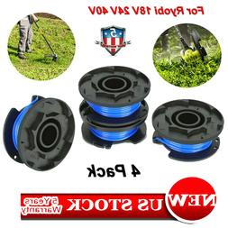 4 Pack String Trimmer Replace Spools Line Weed Eater Edger F