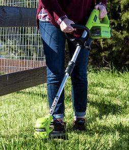 "Greenworks 40v 12"" Cordless Weed Trimmer STF309  211170   To"