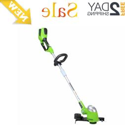 40V Electric Cordless String Trimmer Weed Lawn Battery Not I