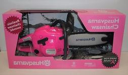 Husqvarna 440 Toy Kids Battery Operated Pink Rotating Chains