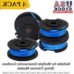 4X Replacement Spool For Greenworks Weed Eater 21332 16ft 0.