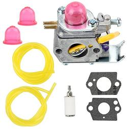 Buckbock 530071752 Carburetor with Fuel Filter Line for C1U-