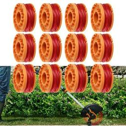 6/12 Pack Replacement Spool Line String Trimmer Fit For Worx