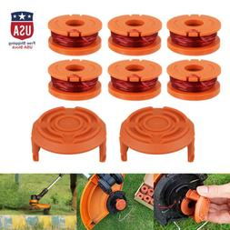 4/6Pcs Replacement Spool Line String Trimmer WA0010 Weed Eat