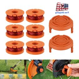 6 Pack Replacement Spool Line String Trimmer WA0010 Weed Eat