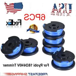 6 Pack String Trimmer Replacement Spools Line Weed Eater Edg