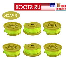 6 PACK String Trimmer Spools Replacement for Ryobi Weed Eate