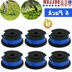 6Pack 18/24/40V String Trimmer Replacement Spool Line Weed E