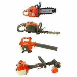 Husqvarna Kids Toy Play Set Chainsaw + Hedge Trimmer + Leaf