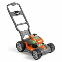 Husqvarna Battery-Powered Kids Toy Lawn Mower for Ages 3+, O