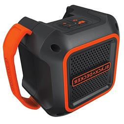 Black And Decker BDBTS20B 20V MAX Wireless Bluetooth Speaker