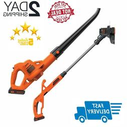 Best Battery Powered Weed Wacker Leaf Blower Combo String Tr