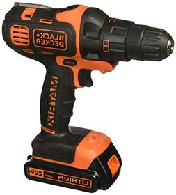 BLACK+DECKER BDCDMT120IA 20-volt Matrix Drill and Impact Com