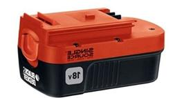 Black and Decker 18 Volt Single Source Battery Pack