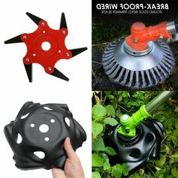 Break-Proof Wired Round Edge Weed Trimmer Blade Weed Lawn Mo