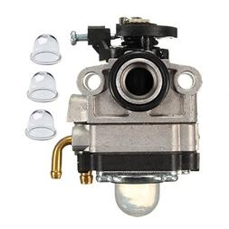 JR PARTS Carburetor with Primer Bulb for MTD Troy-Bilt Ryobi