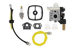 Carburetor Air Filter Fuel Line Spark Plug Tune-Up Kit For E