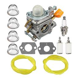 HIPA Carburetor + Fuel Line Fuel Filter for Homelite UT09510