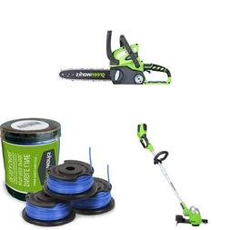 Greenworks 12-Inch 40V Chainsaw, battery & Charger included