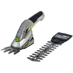 Earthwise Cordless 2-in-1 Garden Grass Hedge Trimmer blades