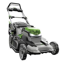 Cordless Battery Push Lawn Mower 20 in Bagging Mulching Side