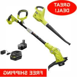 Cordless Electric Weed Eater Wacker String Trimmer Blower To