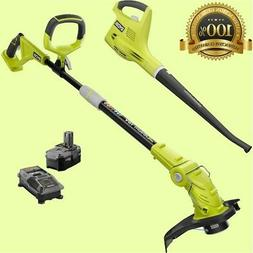 cordless electric weed eater wacker string trimmer