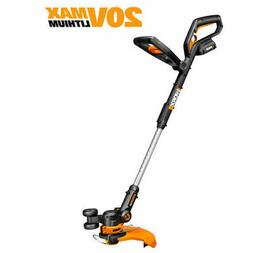"Cordless Grass Trimmer Edger Electric Cutter 10"" 20V Lithium"
