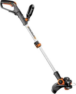 Worx Cordless Grass Trimmer Yard Lawn Weed Edger Eater w/ Co
