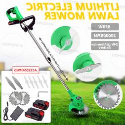 Cordless Lawn Weed Cutter Grass Trimmer Portable Electric Mo