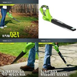 CORDLESS Leaf Blower Lawn Yard Sweeper Lithium Battery Power