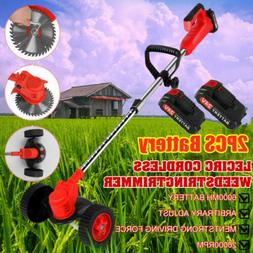 Cordless String Grass Trimmer Weed Eater With 24V Lithium-io