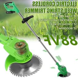 Cordless String Lawn Mower Grass Trimmer Weed Eater With 24V