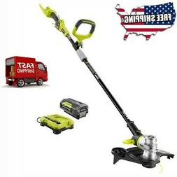 Cordless String Trimmer and Edger Combo Power Tool Kit Charg