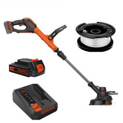 Cordless String Trimmer Edger Eater Whacker Battery Powered