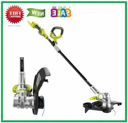 Cordless String Trimmer Edger Weed Whacker Pivoting Head 40V
