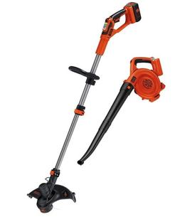 Cordless String Trimmer Wacker Weed Battery Grass Edger And
