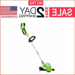 Cordless String Trimmer Weed Eater Grass Edger Wacker 40V To
