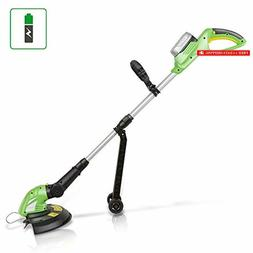 SereneLife Cordless Trimmer Weed Whacker - Electric Grass Ed